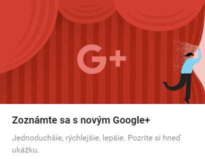 redizajn google+