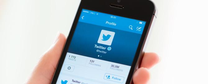 Twitter znaky