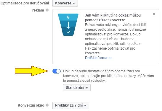 FB optimalizácia na konverzie