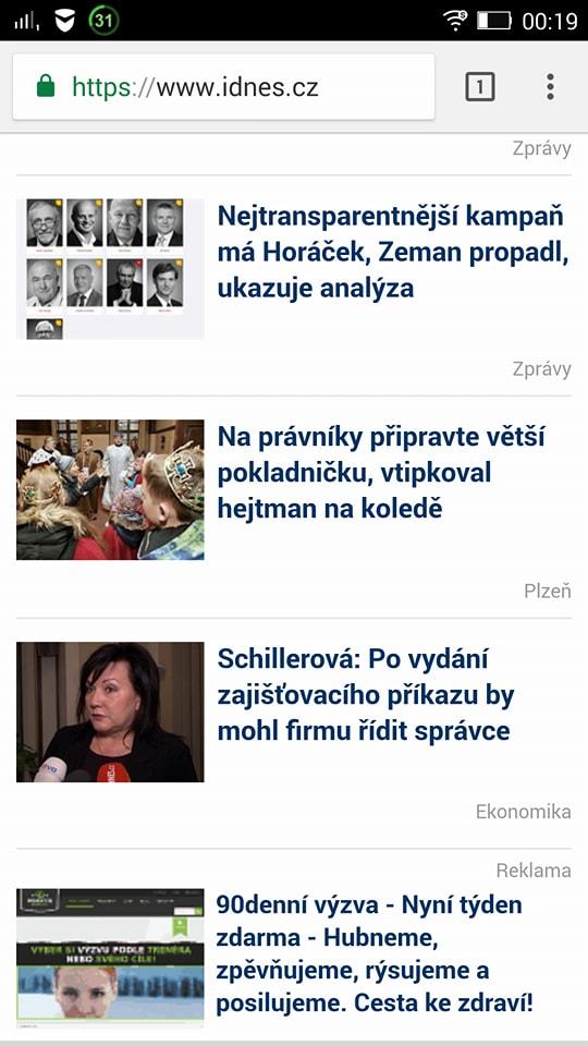 natívna reklama cez seznam.cz